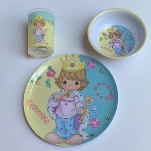 Precious Moments Playing Princess 3pc Set